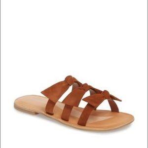 Jeffrey Campbell Bow strap sandals size 8